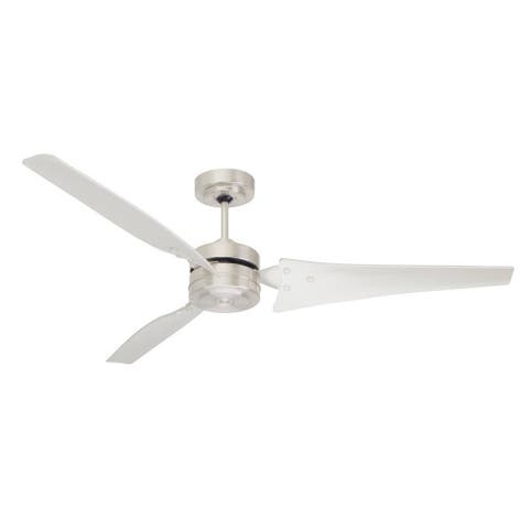 Buy emerson ceiling fans online at overstock our best lighting emerson loft 60 inch brushed steel modern ceiling fan silver aloadofball Choice Image