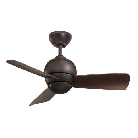 Buy emerson ceiling fans online at overstock our best lighting emerson tilo 30 inch oil rubbed bronze modern indooroutdoor ceiling fan aloadofball Choice Image