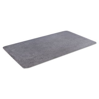 Crown Workers-Delight Slate Standard Dark Gray Anti-Fatigue Mat