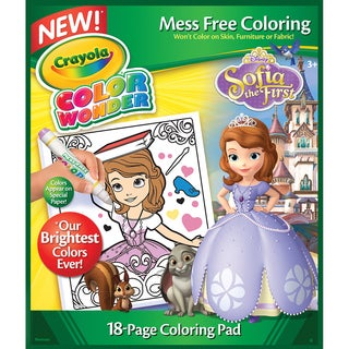 Crayola Color Wonder Coloring PadSofia The 1st