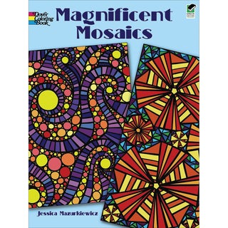 Dover PublicationsMagnificent Mosaics Coloring Book