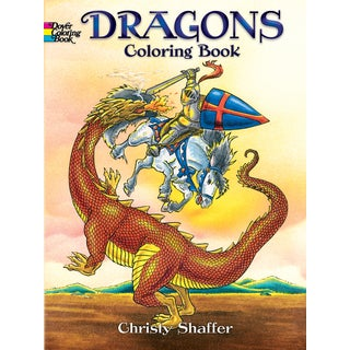 Dover PublicationsDragons Coloring Book
