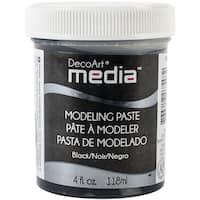 Media Modeling Paste 4ozBlack