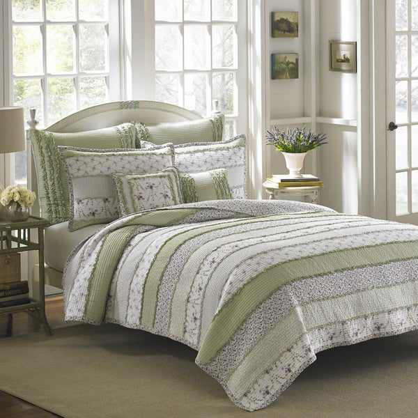 Shop Laura Ashley Lavinia Quilt Free Shipping On Orders