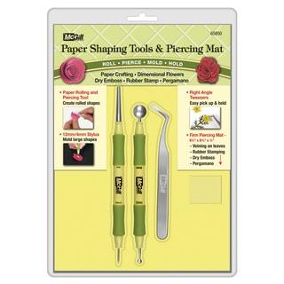 Paper Blossom Tool Kit 4/PkgRoller/Piercer
