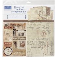 Karen Foster Scrapbook Page Kit 12inX12inHonoring The Past