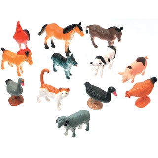Creatures Inc.Farm Animals 12/Pkg