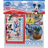 Disney Mickey Page Kit 8inX8inMickey Vacation