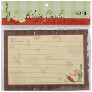Family Recipes Additional Cards 25/Pkg5inX7in