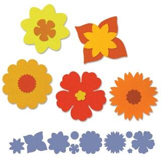 Sizzix Sizzlits Decorative Strip Die 12.625inX2.375inSummer Florals
