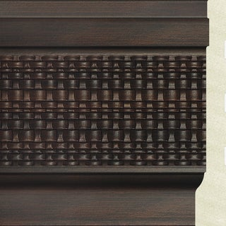 Upscale Designs 72-inch Polystyrene Brown Base Moulding (10 panels)