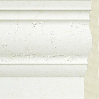 Upscale Designs 72-inch Polystyrene White Base Moulding (10 panels)