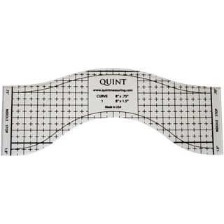 ReverseARuler Sewing And Quilting Longarm Template8.75inX3.5in