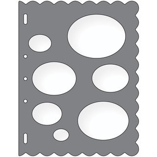 Shape Template 8.5inX11inOvals
