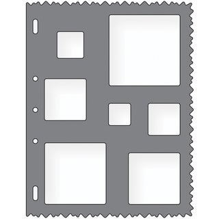 Shape Template 8.5inX11inSquares