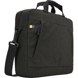 "Case Logic Huxton HUXA-114-BLACK Carrying Case (Attaché) for Apple 14.1"" Notebook - Black"