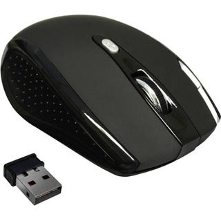 Premiertek 5 Buttons Wireless Cordless Optical Scrolling Wheel Mouse