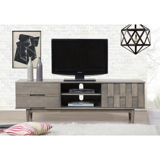Grey Tessuto 70-inch Entertainment Center