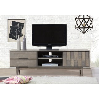 Grey Tessuto 70 Inch Entertainment Center