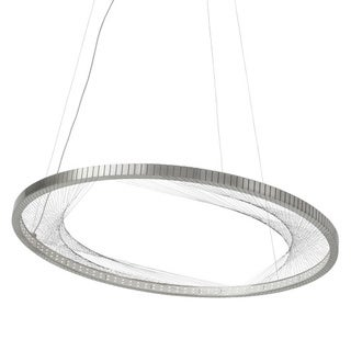 LBL Interlace Satin Nickel Suspension