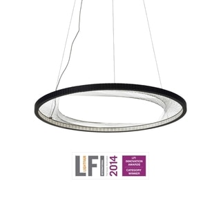 LBL Interlace Black LED Suspension