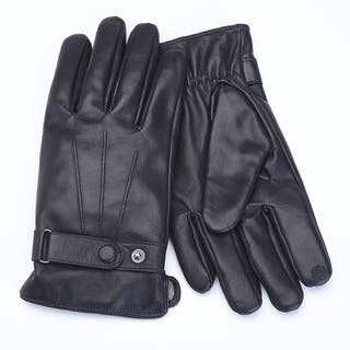 Royce Leather Premium Lambskin Leather Cellphone Tablet Touchscreen Gloves, Men's Medium, Black https://ak1.ostkcdn.com/images/products/10568614/P17645885.jpg?impolicy=medium