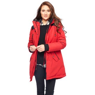Women's Water Repellent Down Coat|https://ak1.ostkcdn.com/images/products/10568678/P17645922.jpg?impolicy=medium