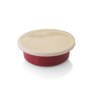 Geminis Round Plastic Covered Dish