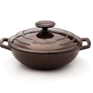 Neo Cast Iron 10-inch Covered Wok