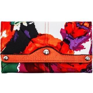 Parinda Madaline Floral Tri-fold Wallet|https://ak1.ostkcdn.com/images/products/10568716/P17645961.jpg?impolicy=medium
