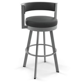 Clay Alder Home High Bridge 26-inch Swivel Metal Counter Stool