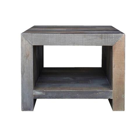 Aurelle Home Reclaimed Wood End Table