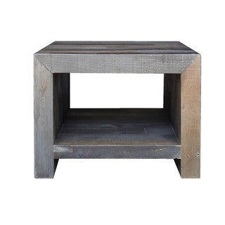 Aurelle Home Reclaimed Wood End Table