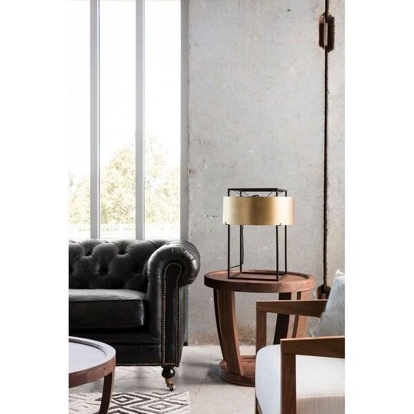 Aurelle Home Kellie Brass Table Lamp