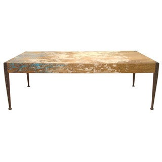 Aurelle Home Vintage Rustic Aria Coffee Table