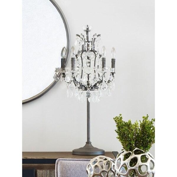 Aurelle Home Crystal Table Lamp