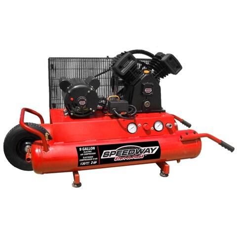 Speedway 2HP Electric Wheelbarrow Air Compressor