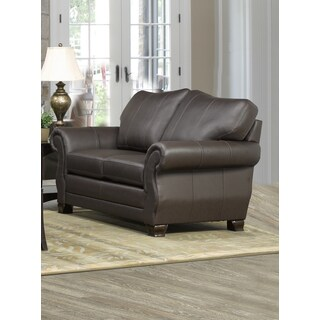 Madison Italian Leather Loveseat