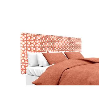 MJL Furniture Alice Gigi Salmon Designer Upholstered Headboard