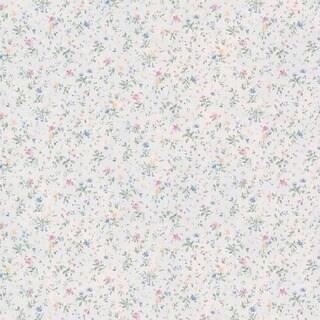 Pastel Floral Garden Wallpaper