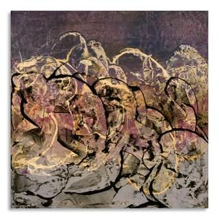 Gallery Direct Shirley Williams 'Transforming Current II' Print on Birchwood Wall Art