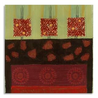 Gallery Direct AA Phoenix 'Autumnal I' Print on Birchwood Wall Art