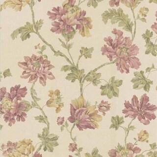Rose Floral Trail Wallpaper
