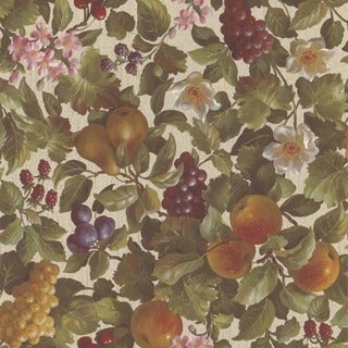 Olive Fruit Vine Wallpaper