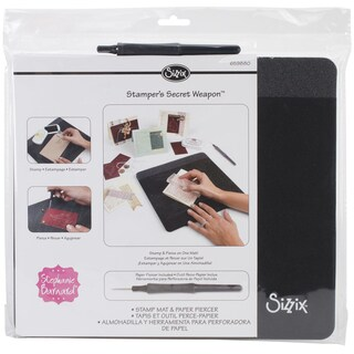 Sizzix Stamper's Secret Weapon12inX10.5inX.5in Mat & Paper Piercer