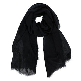 Solid Color Fringe Scarf (More options available)