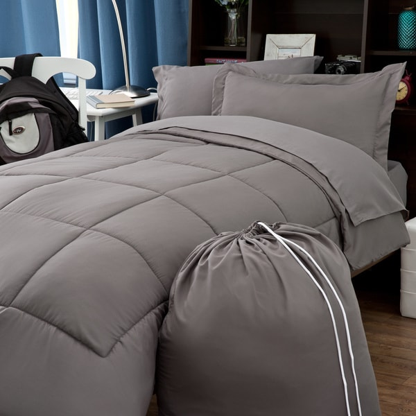 Clara Clark 6 Piece Twin XL Bed In A Bag With Sheet Set