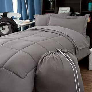 Clara Clark 6-piece Twin XL Bed in a Bag with Sheet Set|https://ak1.ostkcdn.com/images/products/10569505/P17646585.jpg?impolicy=medium