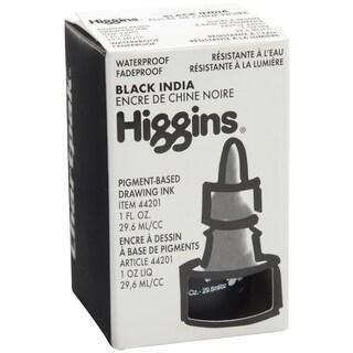 Higgins India Ink 1ozMatte Black