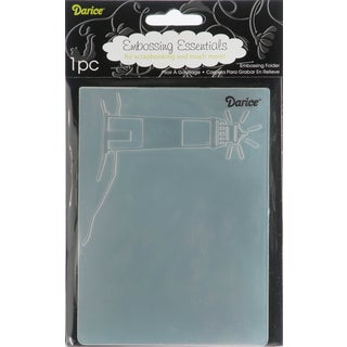 Embossing Folder 4.25inX5.75inLighthouse